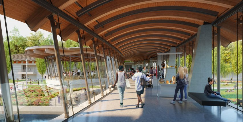The museum will feature a new bridge