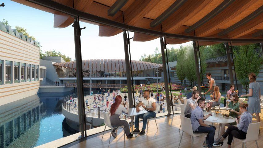 Crystal Bridges Museum of Art will feature a light-filled bridge