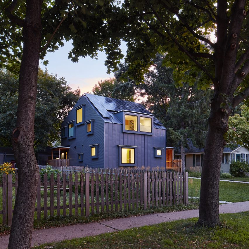 Salmela designs Electric Bungalow in Minnesota for architecture professor