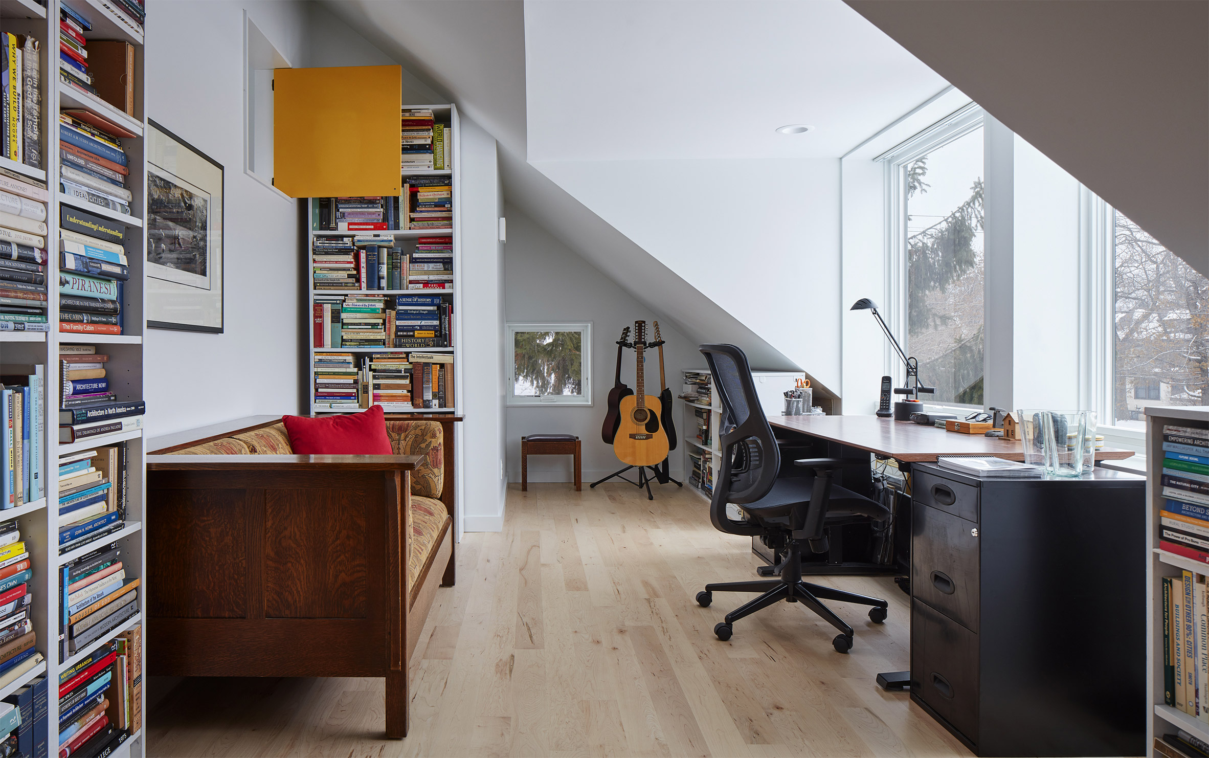 Electric Bungalow has an office