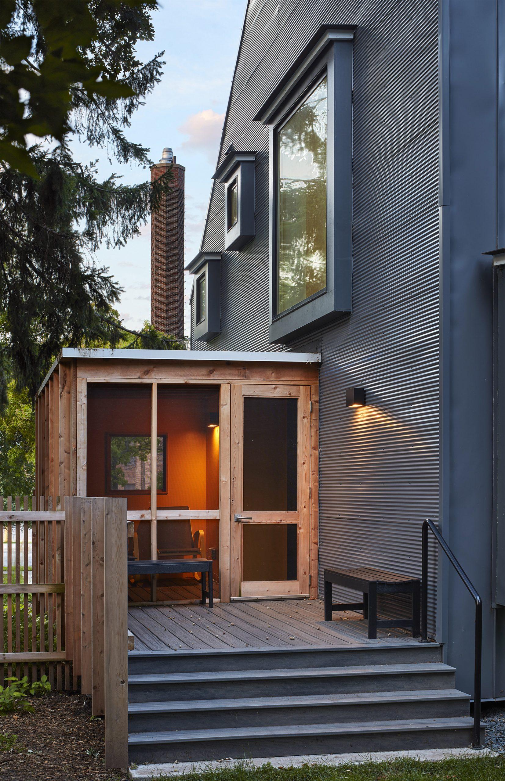 Salmela designed Electric Bungalow in Minnesota
