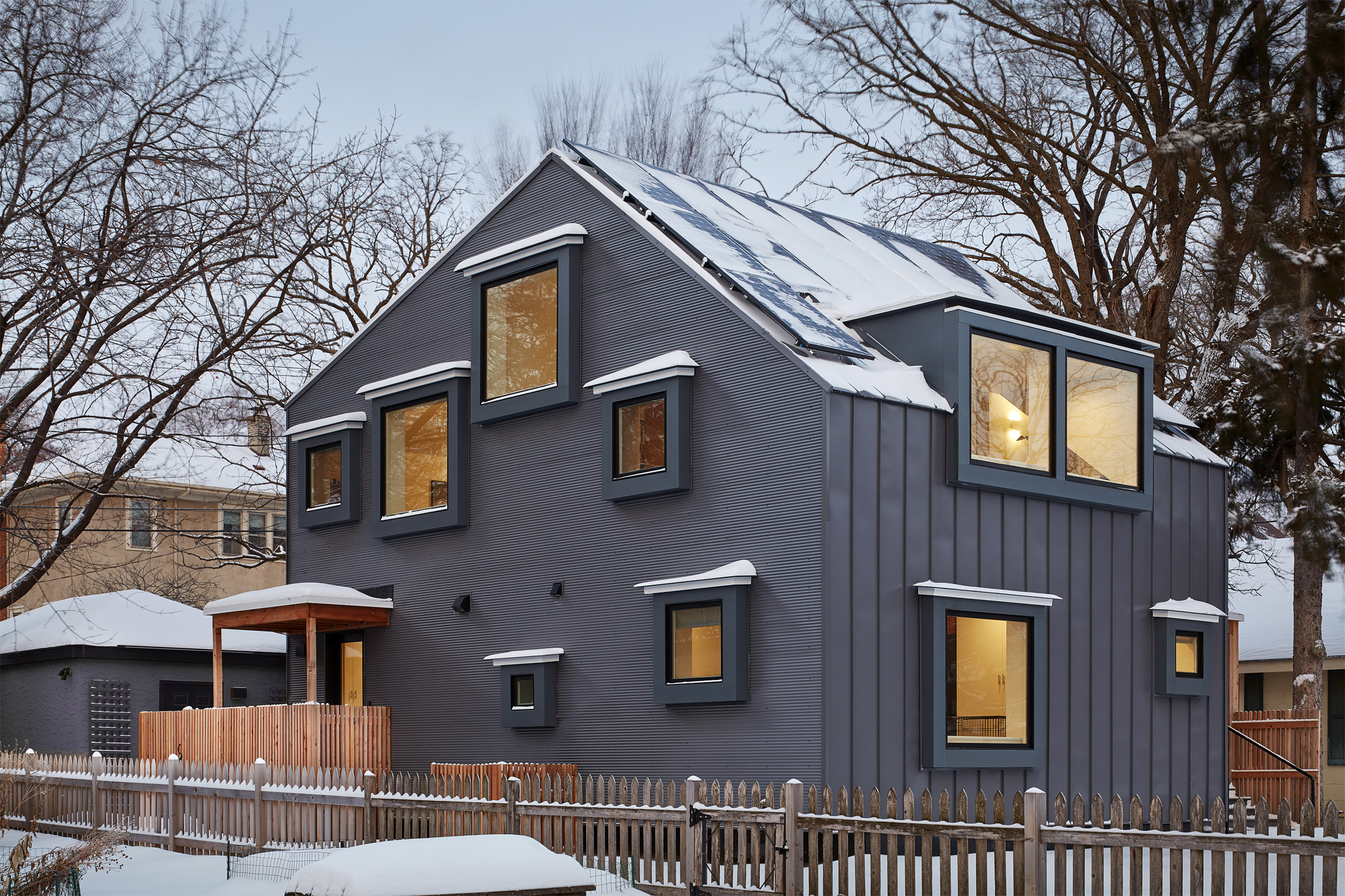 Salmela Architect designed the project