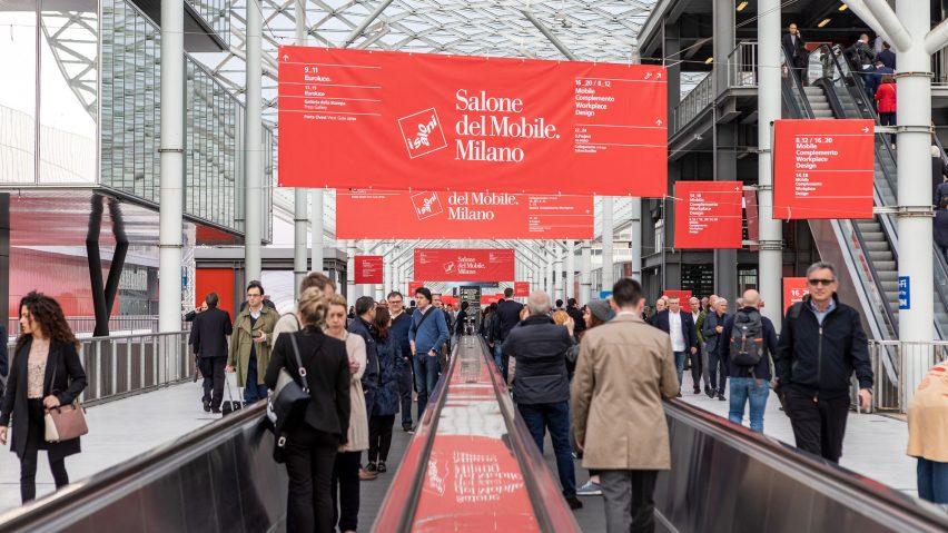 Salone del Mobile entrance