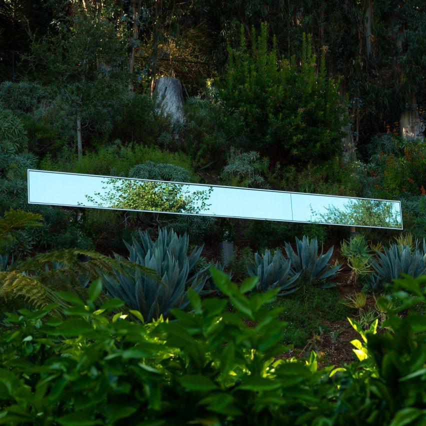 SOM and Phillip K Smith III install light-up mirrored sculpture in Santa Monica