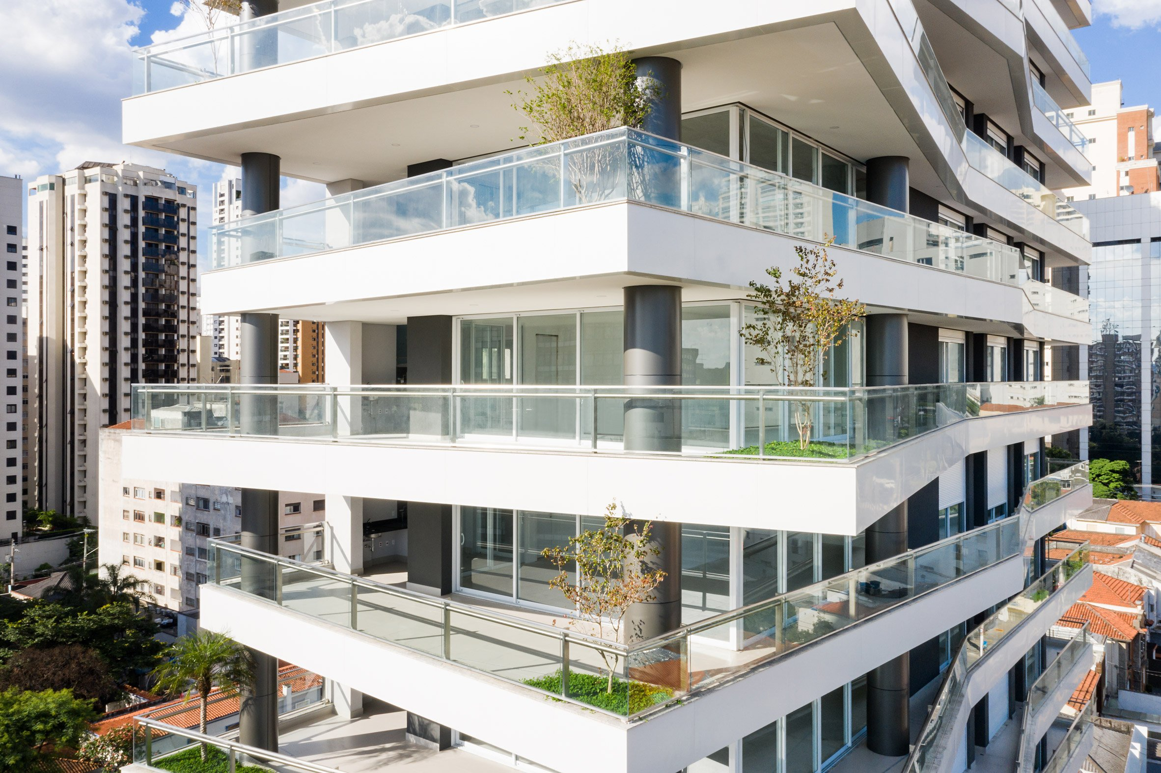 Green roofs make the building more sustainable