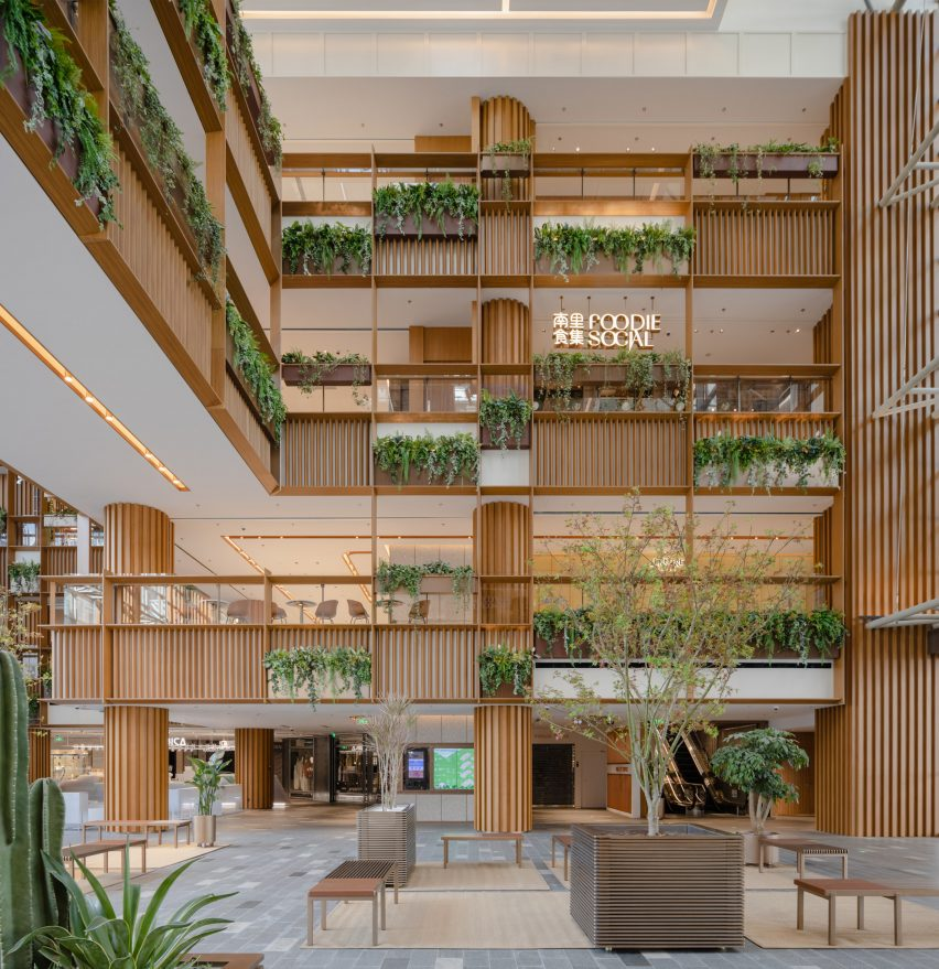 Xintiandi atrium by AIM Architecture