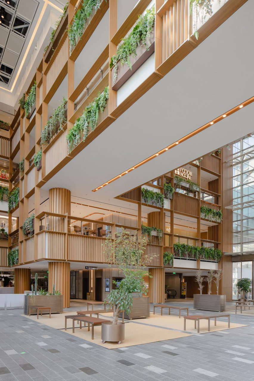 Xintiandi atrium by AIM Architecture