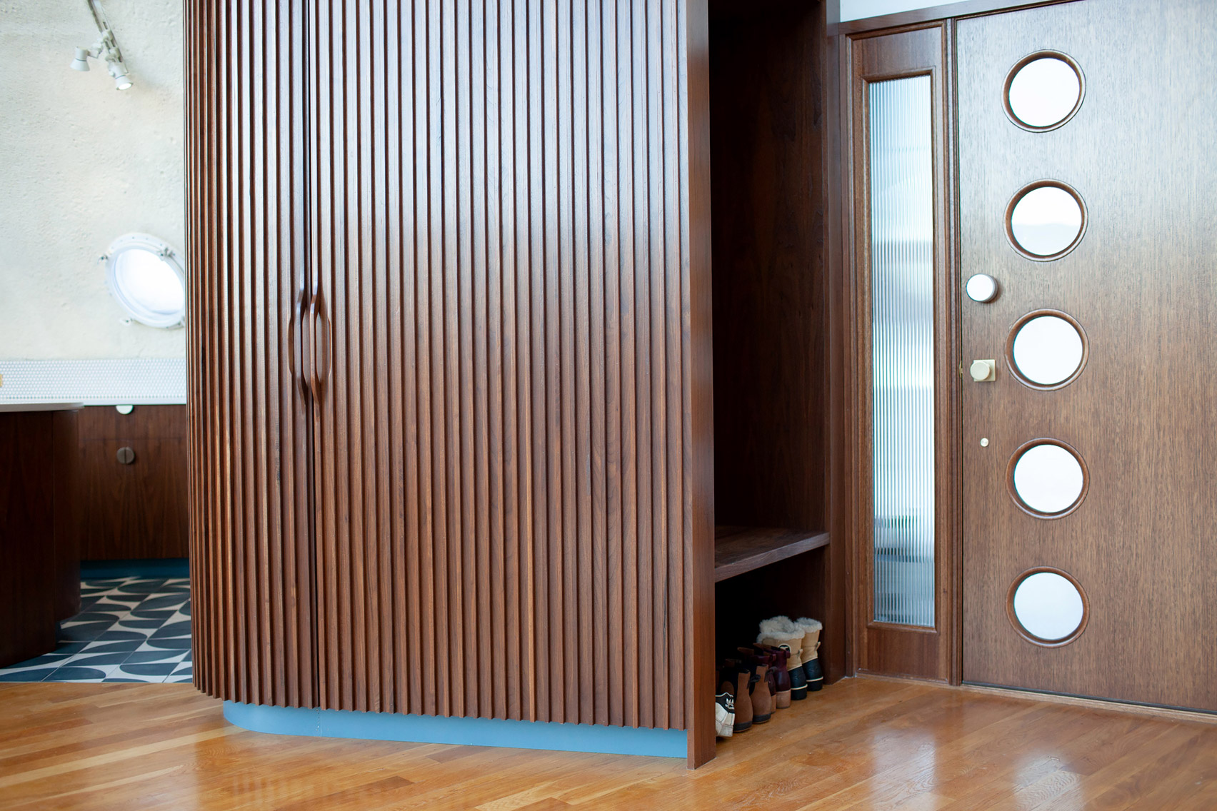 Entryway of Shell House renovated by DAAM