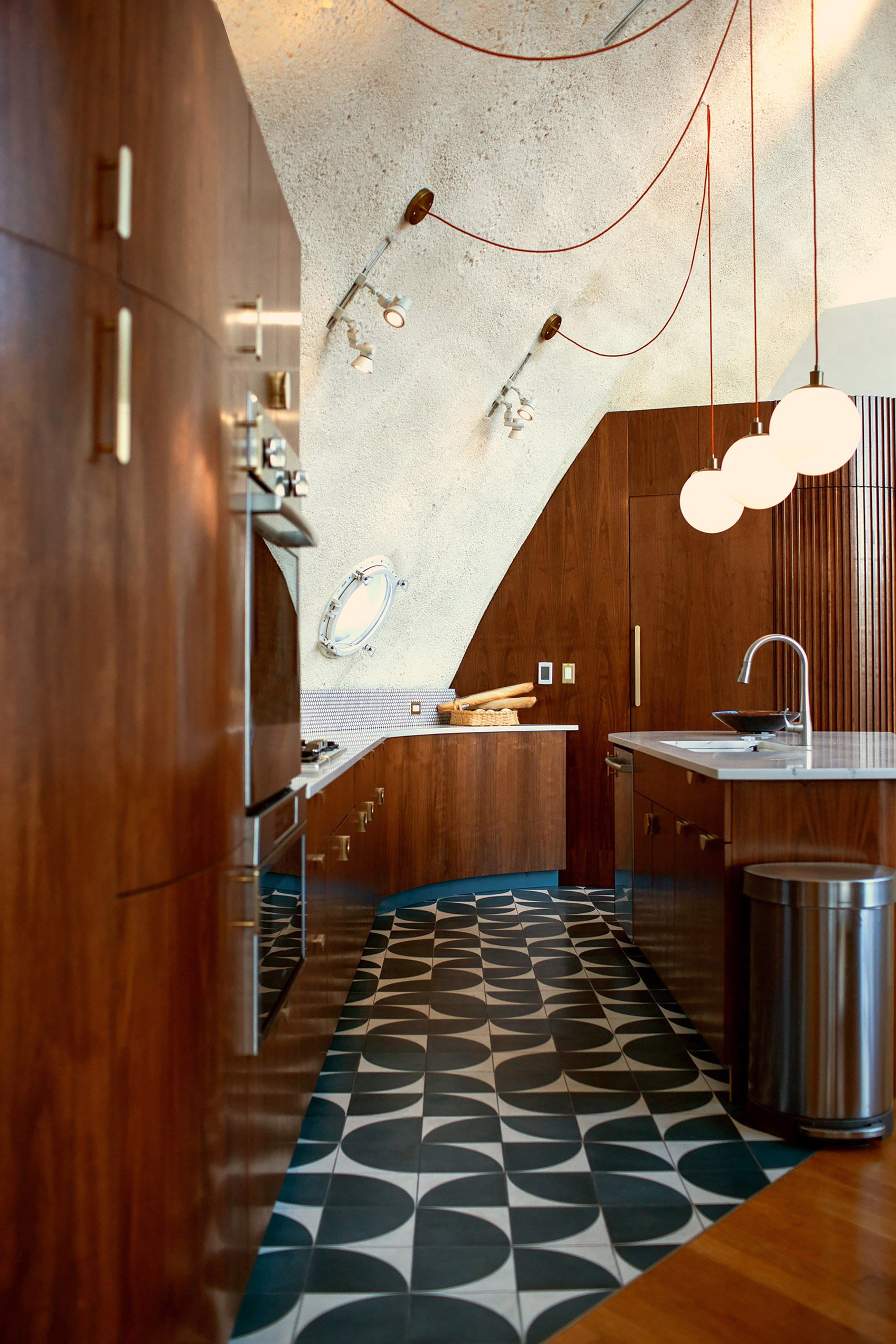 Kitchen cabinets designed by DAAM for Shell House