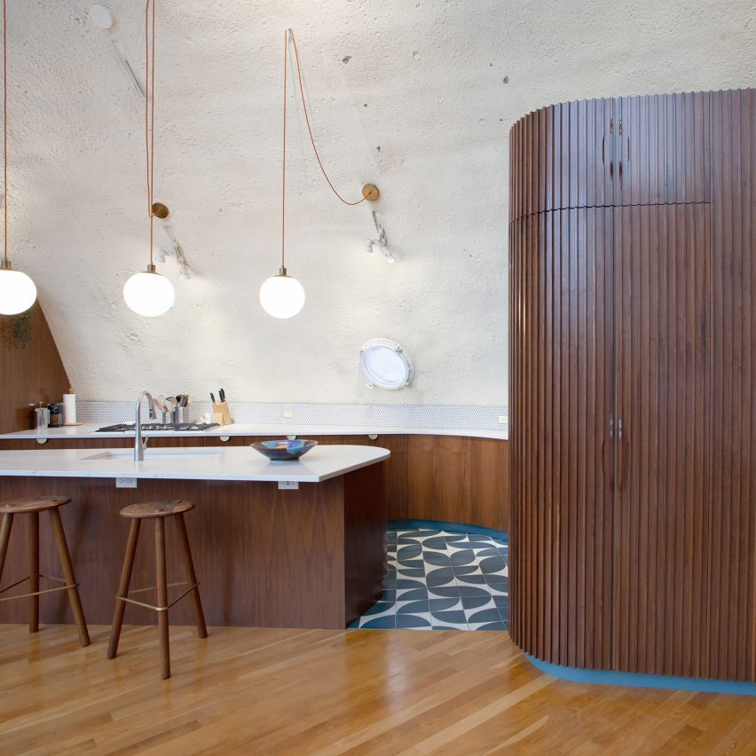 Shell House renovation by American studio DAAM