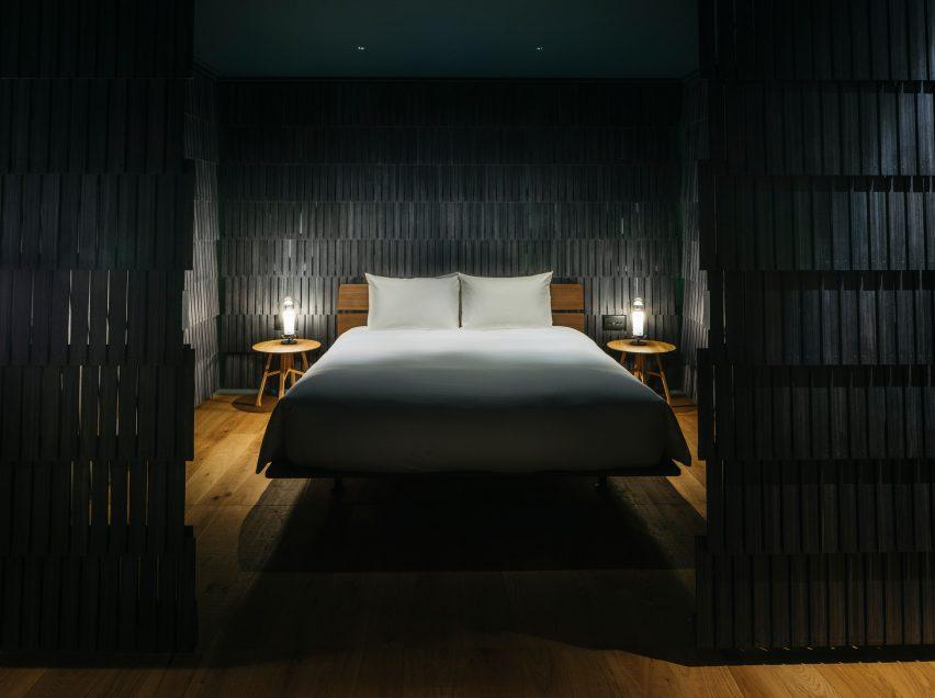 Jasper Morrision-designed hotel room
