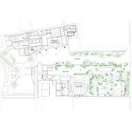Ground floor plan of Shiroiya Hotel