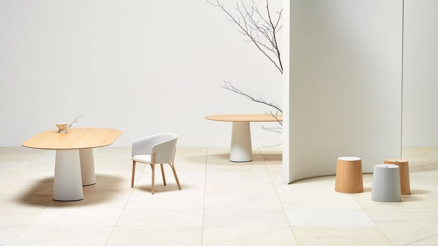 POV tables and stools by Kaschkasch for TON