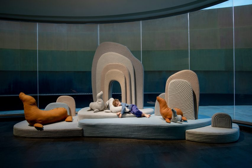 Soft animals at Design Museum Holon