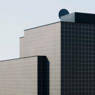 Soulwax's monochrome recording studio nods to 1960s Italian architecture