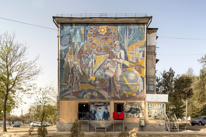 Mosaics are common in the architecture photographed by Roberto Conte and Stefano Perego