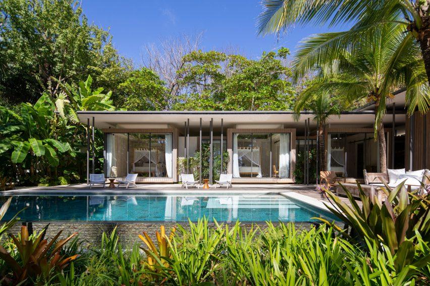 Studio Saxe nestled Sirena House in the Costa Rican jungle