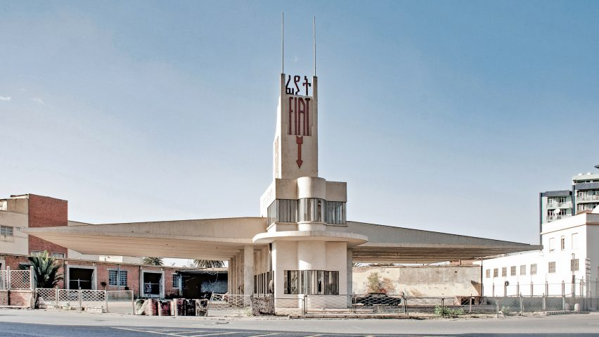 Fiat Tagliero Service Station, Asmara