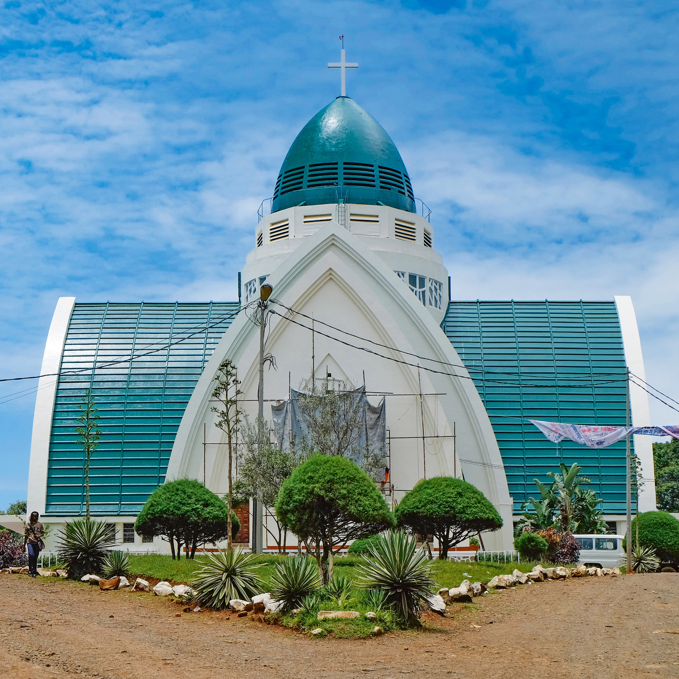 Bukavu Cathedral, Bukavu, by Georges Nef