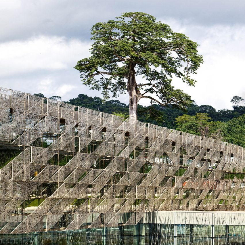 Sipopo Congress Centre, near Malabo, byTabanlıoğlu Architects