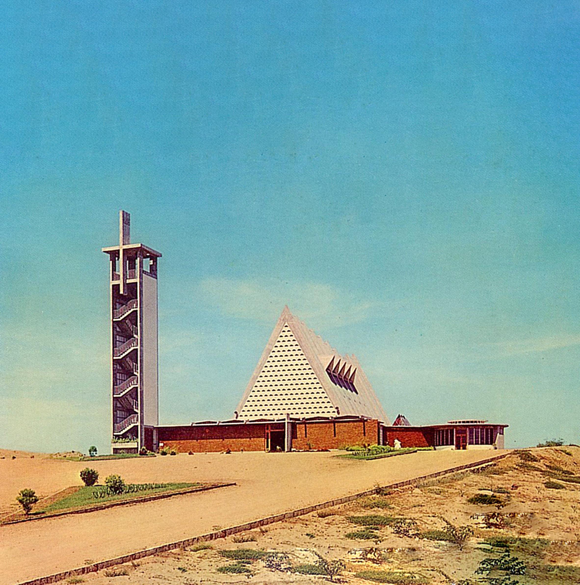 Nossa Senhora da Conceição Church, Sumbe, by Francisco Castro Rodrigues