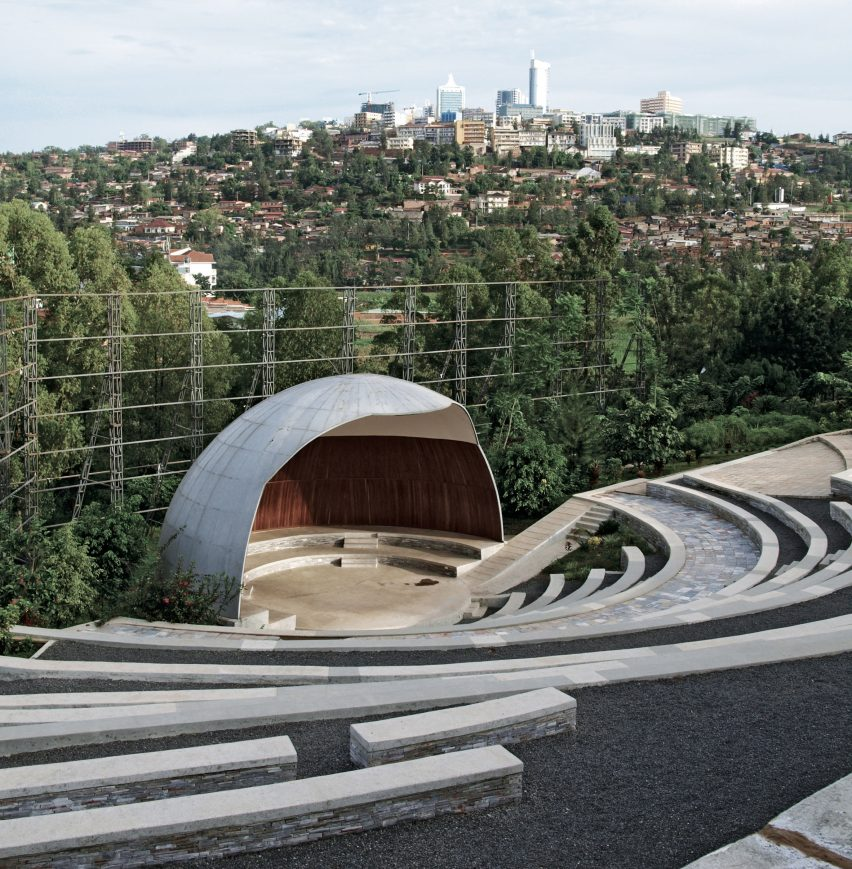 Genocide MemorialAmphitheatre, Kigali, by John McAslan and Partners