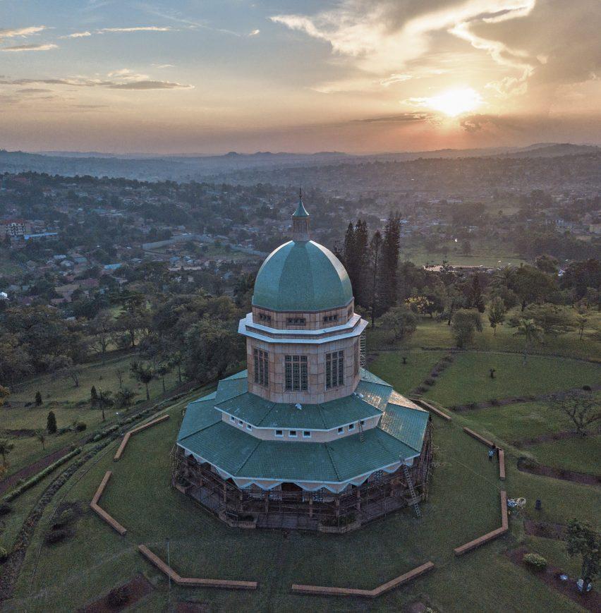 Baha'i House of Worship, Kampala, by Charles Mason Remey,Cobb, Powell and Freeman