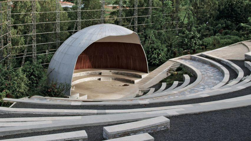Genocide Memorial Amphitheatre, Kigali, by John McAslan and Partners