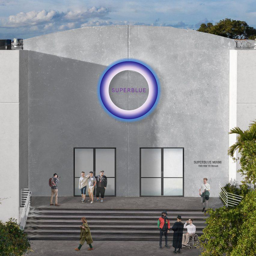 Superblue Miami facade rendering
