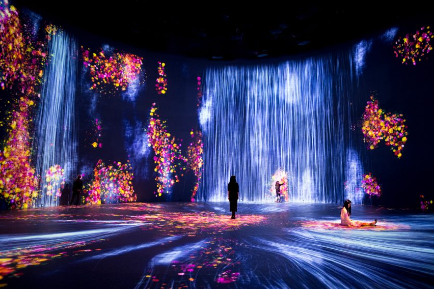 Every Wall is a Door by teamLab at Superblue Miami