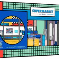 Supermarket store by Camille Walala