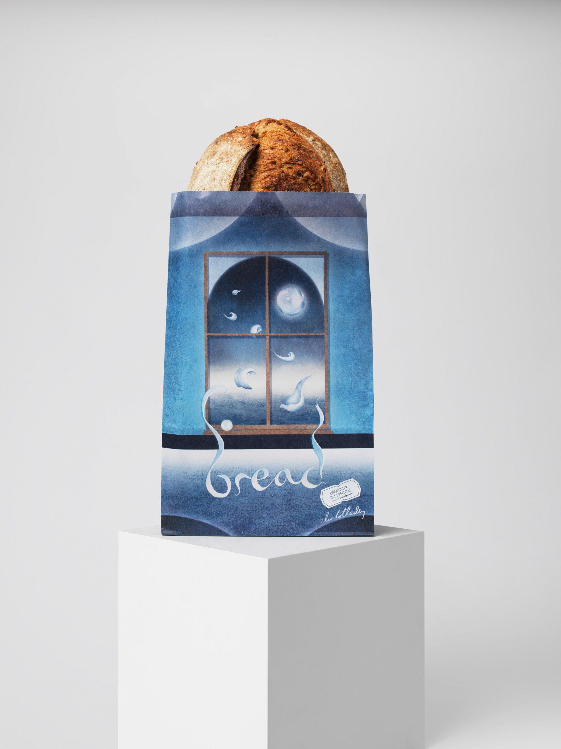 Bread bag by Charlotte Edey