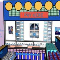 Camille Walala Supermarket design for Design Museum