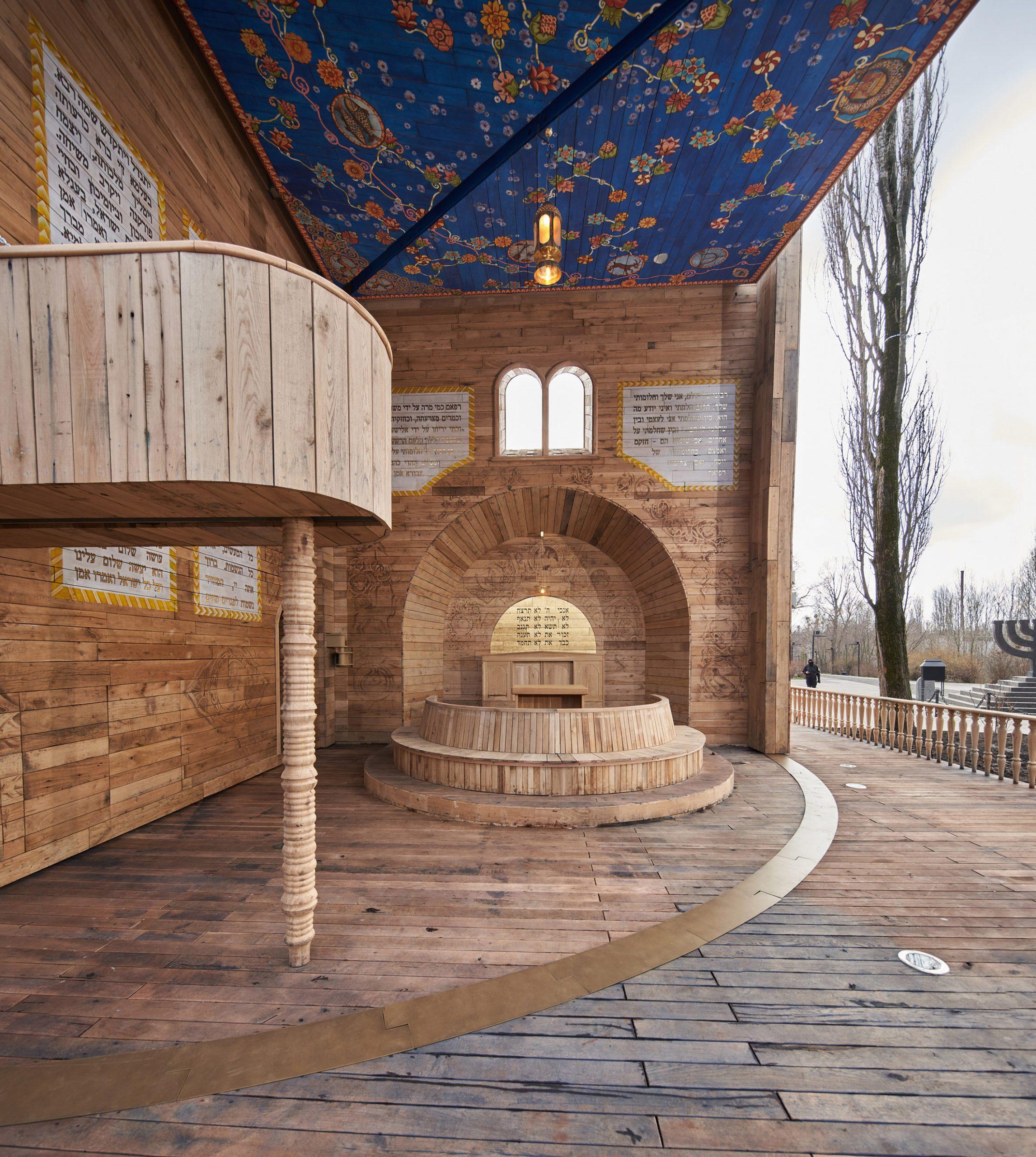 Babyn Yar Synagogue pop-up synagogue