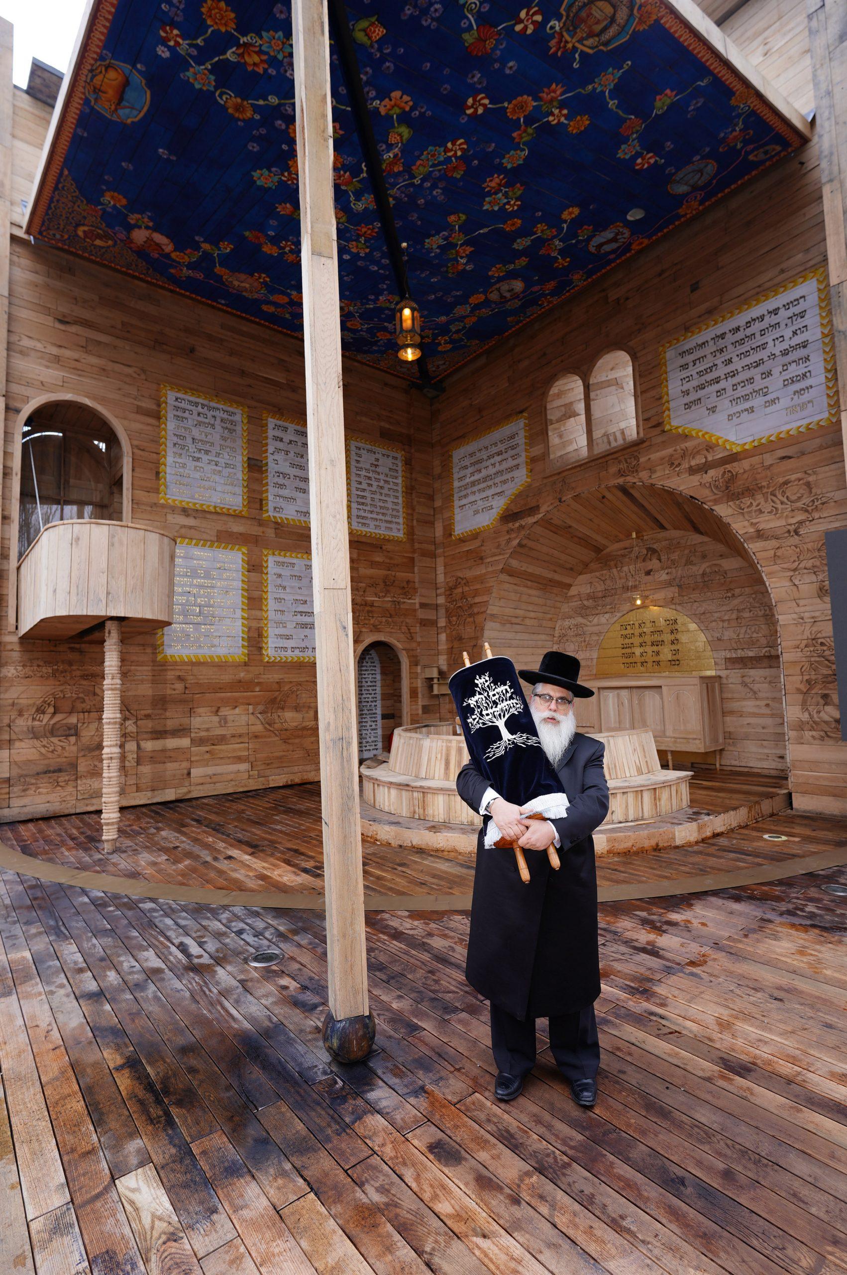 Pop-up synagogue in Ukraine