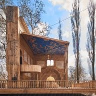 Manuel Herz Architects creates synagogue that opens like a pop-up book