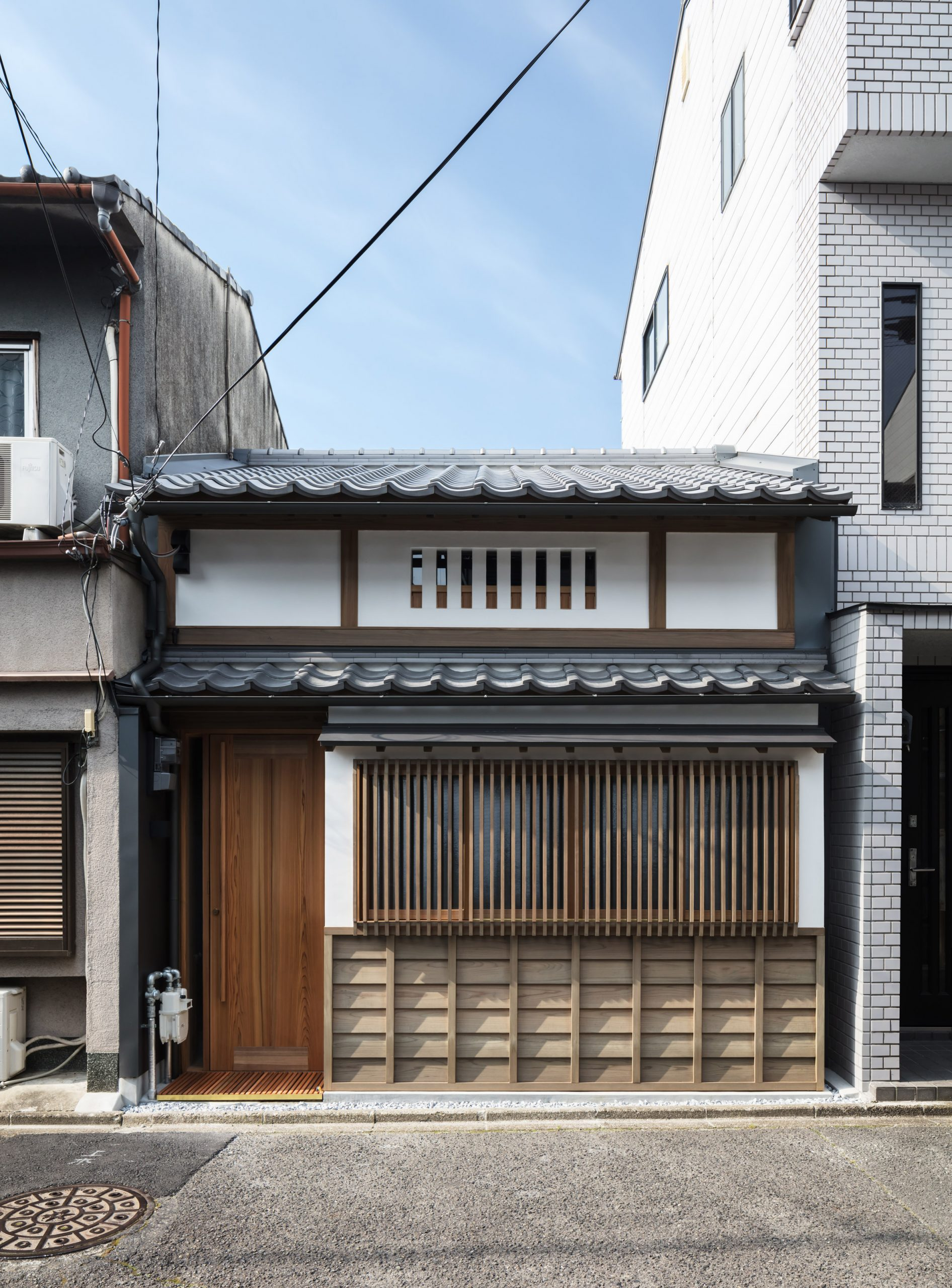 Old row house in Kyoto