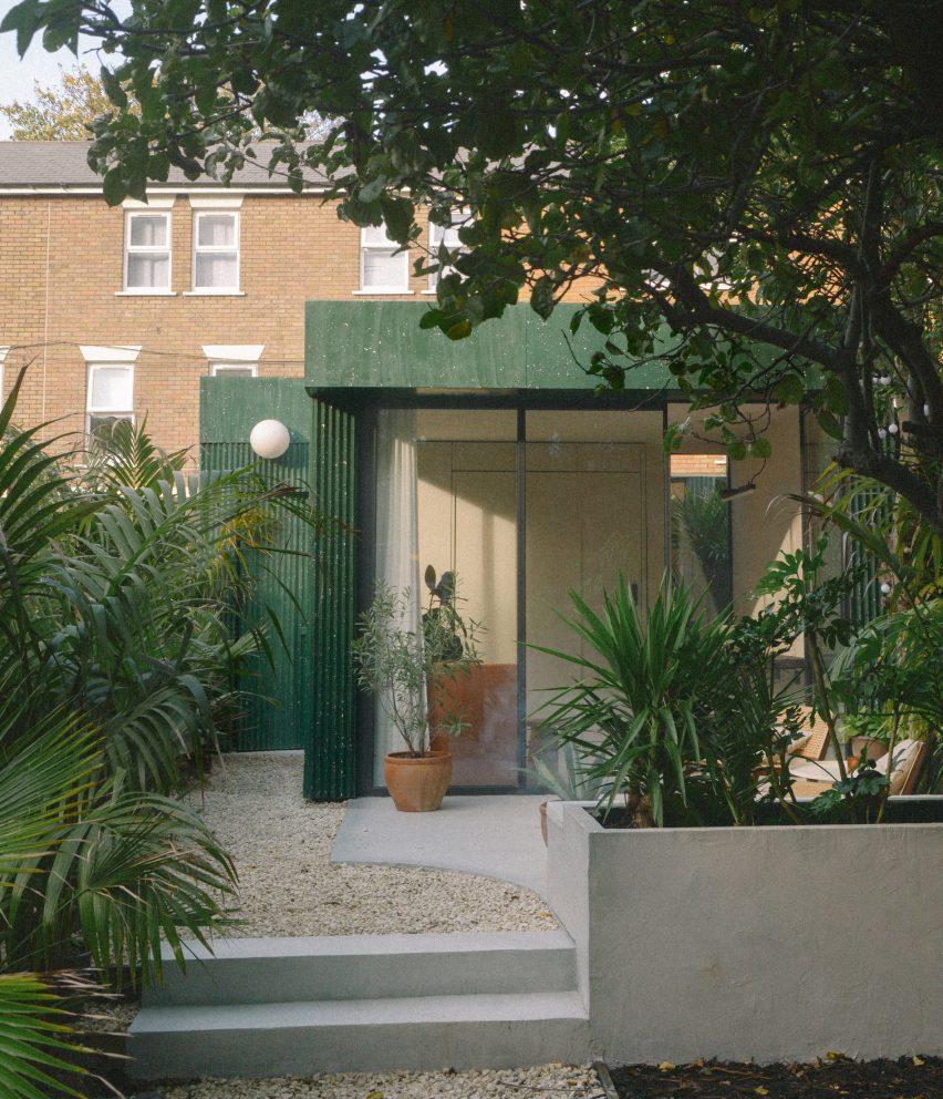 A terrazzo-clad garden studio in London