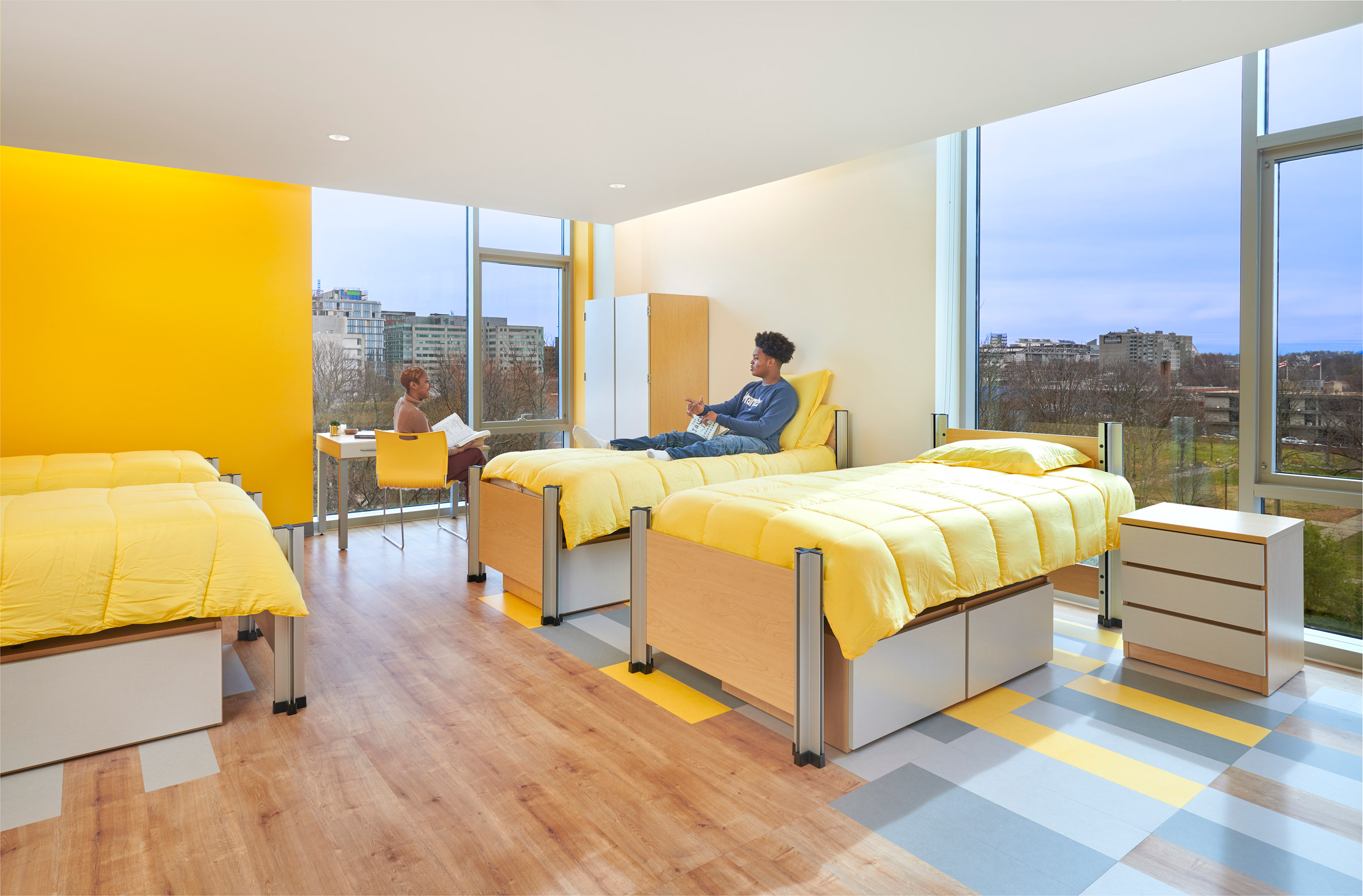 A shared apartment
