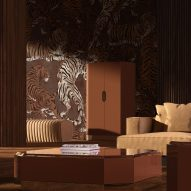 The Daydreamer is a capsule collection of wallpaper by Gio Pagani for Londonart