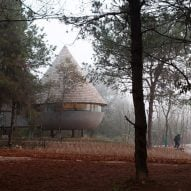 ZJJZ Atelier references Chinese folktale to create The Mushroom guesthouse