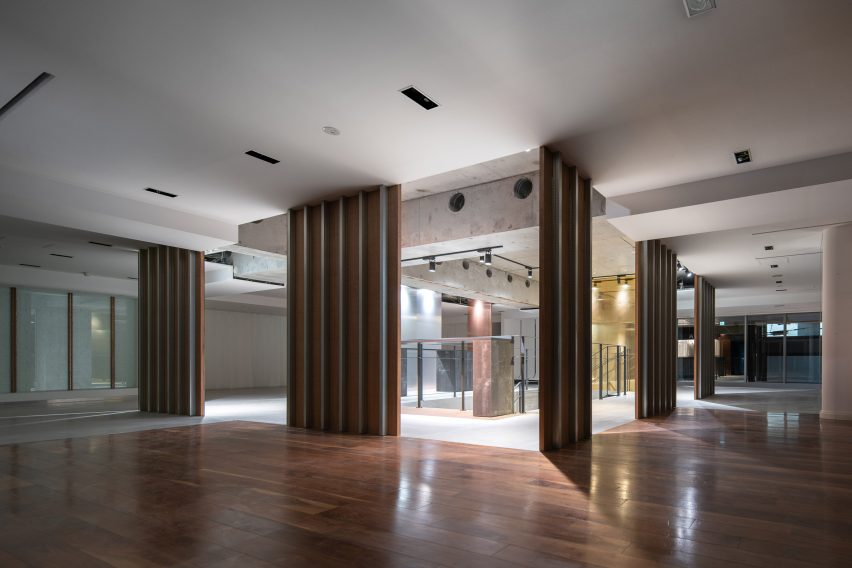 Pan Projects' design for Ayoama fashion store