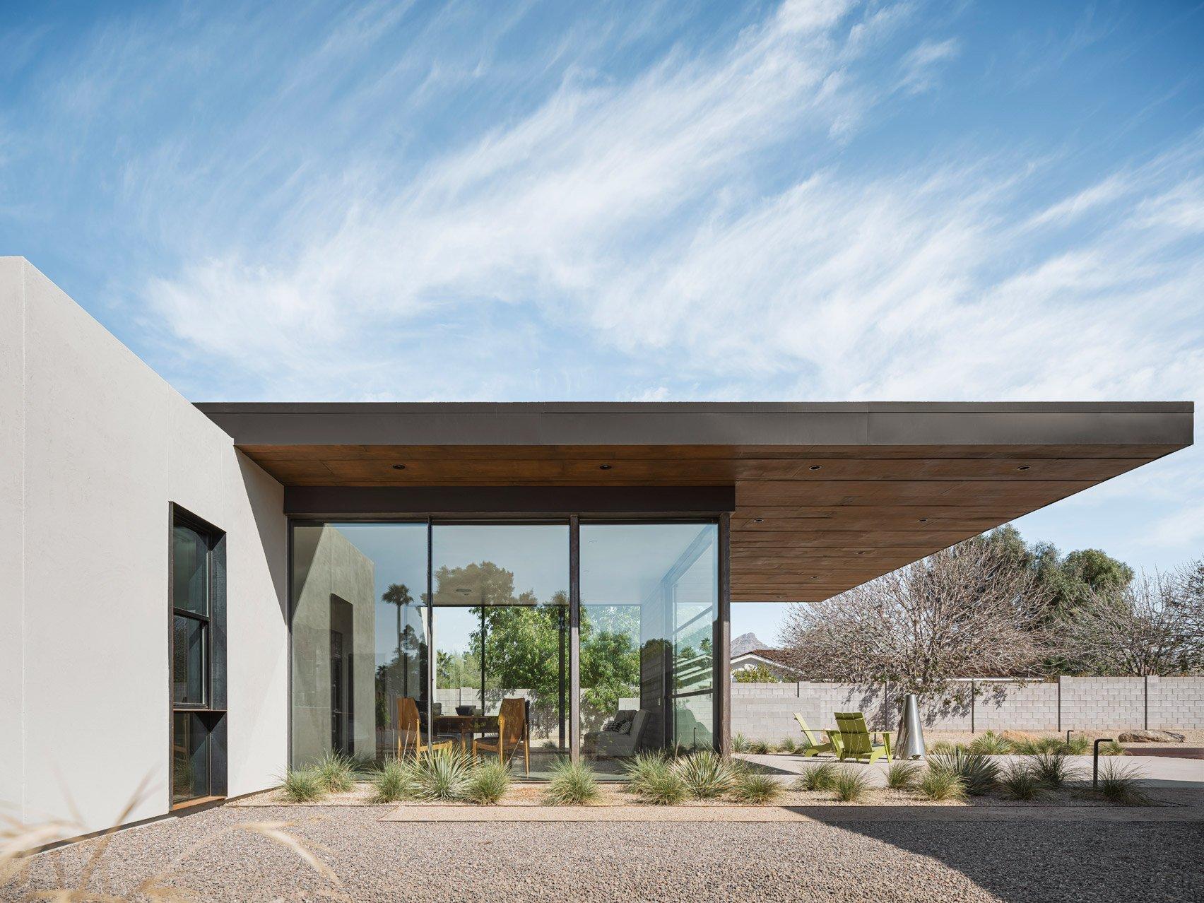 Roof of casiTa in Arizona
