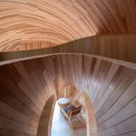 Inside one of The Seeds cabins in China