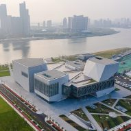 Diller Scofidio + Renfro completes riverside Tianjin Juilliard School in China