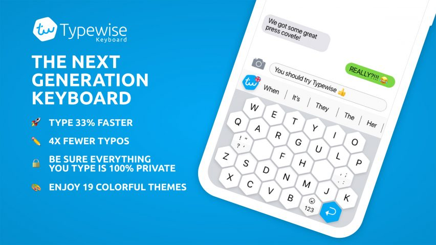 Typewise keyboard features