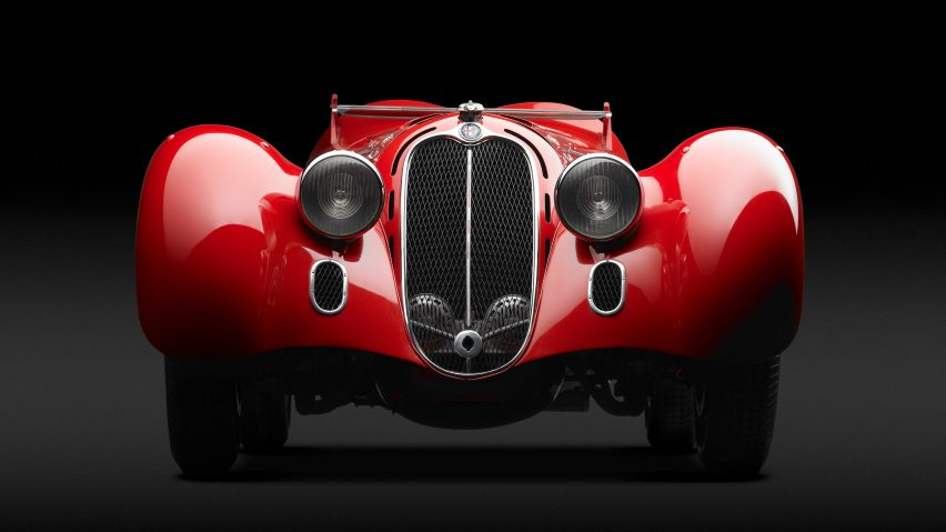 Alfa Romeo 8C 2900B MM Spider, 1938