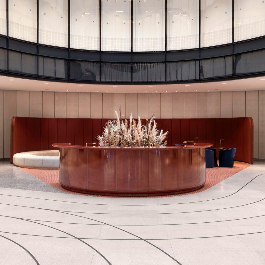 100 Liverpool Street office interior by Universal Design Studio