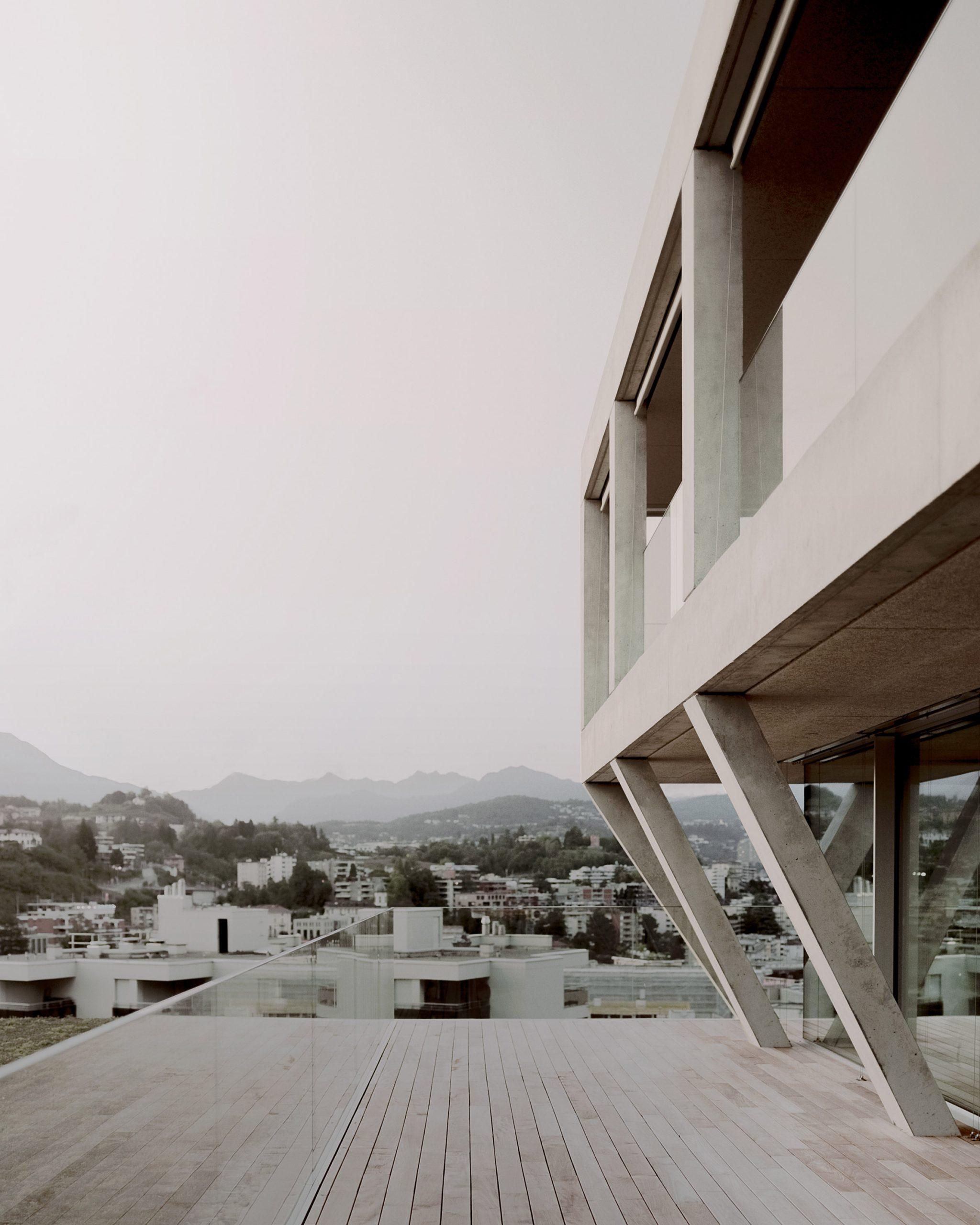 The building has a concrete exterior by DF_DC