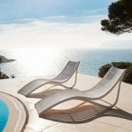 Ibiza sun lounger by Eugeni Quitllet for Vondom